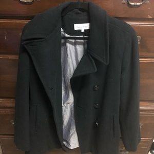 Calvin Klein cashmere black Jacket